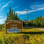 Entrance to White Moose Lodge