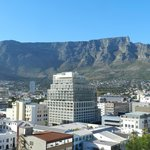 View of Table Mountain from our room