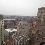Vista do 31 andar - Marriott Boston Copley Square