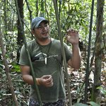 one of the tour guides on jungle excursion with us