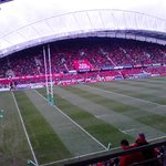 VIEW OF THOMOND PARK FROM ROOM