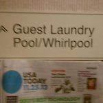 Deceptive Signs - No Whirlpool on Site