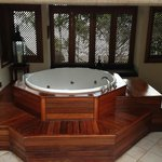 Honeymoonsuite mit Aussenjacuzzi