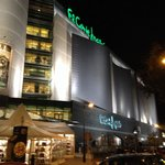 El corte ingles right next to the hotel! Super location!