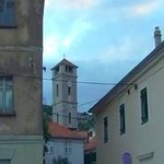 Village Tisno and churches of the Holy Spirit