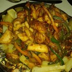 MIXED SEAFOOD SIZZLER