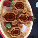 Mickey Mouse Waffles!!