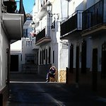 Back streets of Nerja (Old Lady in Sunshine)