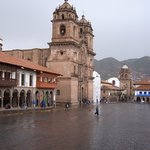 Plaza de Cusco.
