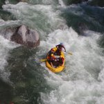 Rafting at Rio El Cangrejal
