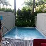 Away room plunge pool