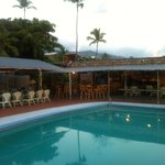 The Holel Molokai bar is located near the pool.