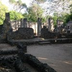 The Great Mosque at Gede Ruins