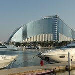 Jumeirah Beach Hotel from marina