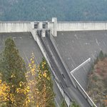 Dworshak Dam near the Helgeson Hotel in Orofino Id.