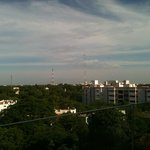 View of Trichy town