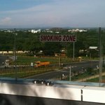 Exclusive smoking area
