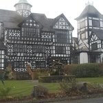 A beautiful tudor hotel