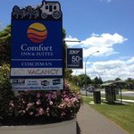 Comfort Inn Coachaman, it is a great place to stay for relexing