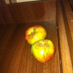 Apple anyone! Found in the draw!