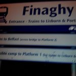 Finaghy Train Station