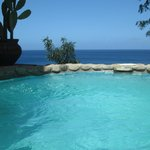 View from plunge pool