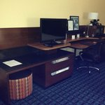 King room new desk area in renovated room