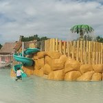 Kids waterpark at Coba hotel