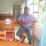 Mr Sahid (Manager of this Hotel, he is a very good and cheerful guy, he is also a very good Sing