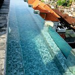 mini rooftop infinity pool