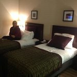 Comfortable beds - Crowne Plaza