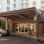 Hampton Inn & Suites (Memphis) - Off-Street Entrance