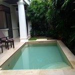 Private Garden pool