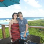 My wife Katy & I exploring Middle Caicos