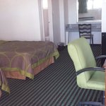 "2 double beds, 32"" LCD Tvs, desk, chair, micro-fridge,  free wi-fi, telephone, hair dryer, In-ro"