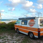 Foto de Noosa North Shore Beachfront Caravan Park
