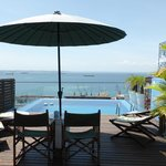 Pool view from the Bahia Suite
