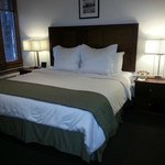 One of our newly renovated king rooms.