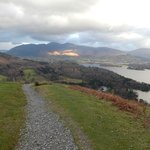 On the way up Catbells