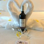Honeymoon welcome