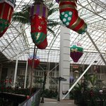 Atrium Christmas Decorations