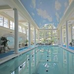 Indoor Saltwater Mineral Pool