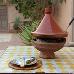 Fresh prepared tajine.