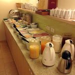 Breakfast at the Atel Hotel Lasserhof