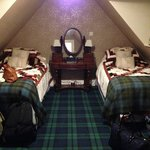 Twin room at The Ghillies Lodge