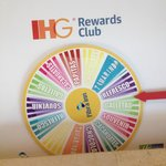 The Loyalty Wheel IHG Rewards Members get to spin
