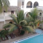 Pool View from our Balcony