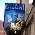 Photo of Blue Man