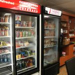 convenience store in laundry room