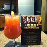 Special drinks for Anchorman Movie